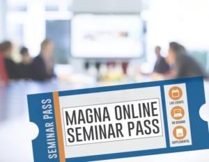 Magna Online Seminar Pass