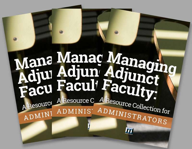 Managing Adjunct Faculty: A Resource Collection for Administrators book