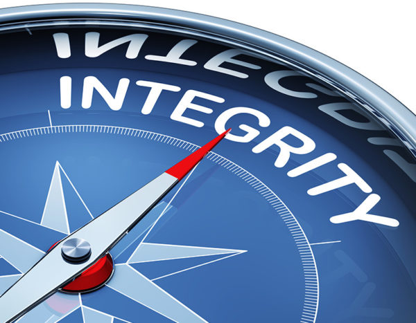 Compass need points to integrity