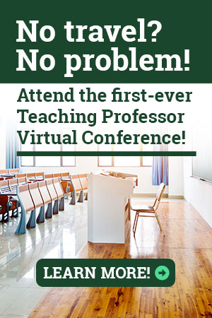 Teaching Professor Virtual Conference ad
