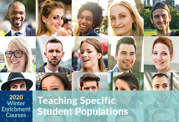 Winter Enrichment Course Teaching Specific Student Populations