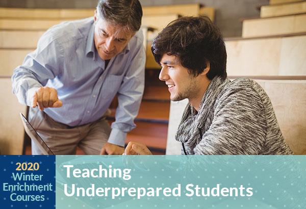Winter Enrichment Course Teaching Underprepared Students