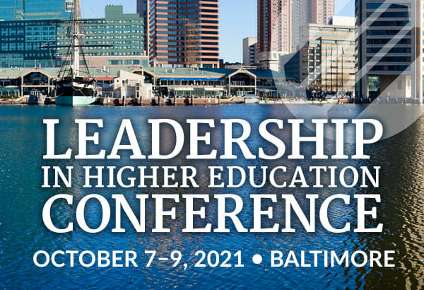 Leadership in Higher Education Conference 2021