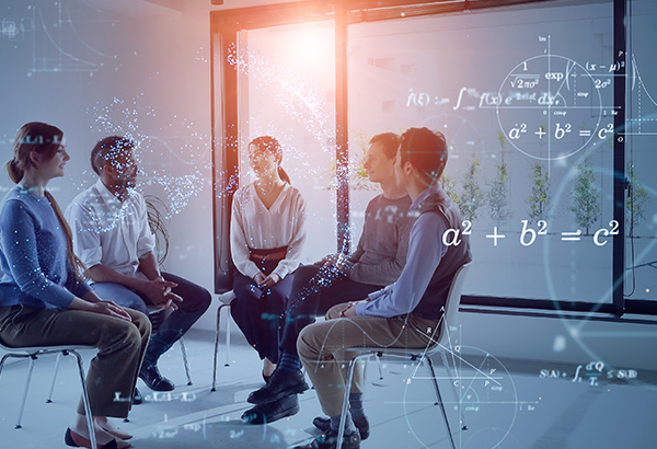group-of-people-discussing-topics-in-chairs-with-formulas