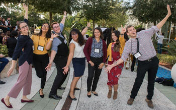 National Conference on Student Leadership attendees