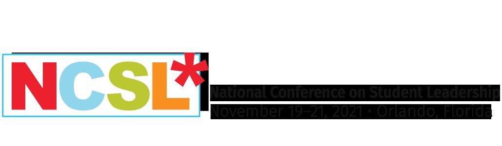 NCSL Conference November 19-21, 2021 Orlando