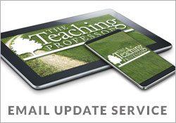 Teaching Professor Update Service