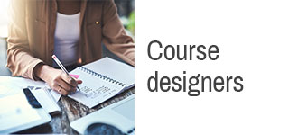 Course designers
