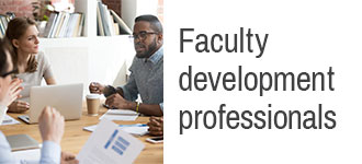Faculty development professionals
